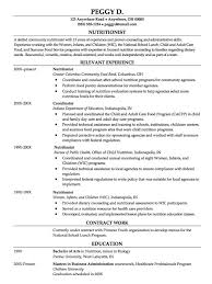 Nutritionist Resume Sample by 14 Best Project Images On Pinterest Projects