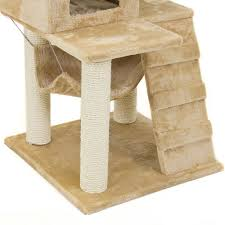 modern scratching post deluxe 52 cat tree tower condo scratcher furniture kitten house