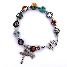 rosary bracelets the clay rosary girl new in store rosary bracelets and beaded