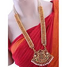 buy manav company necklace set jewellery set set bharatanatyam