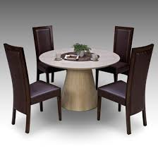 round marble dining table and chairs glamorous retro round marble dining table 4 elm chairs 15674 of for