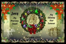 merry christmas angel joey