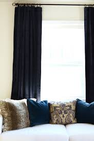 Pottery Barn Curtains The Perfect Blue Velvet Curtains By Georgia Grace