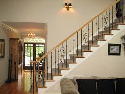 Iron Banister Spindles Wrought Iron Balusters Traditional Staircase Charlotte By