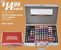 black friday ulta 2014 175 value ulta irresistible beauty 72pc make up case for 11 49