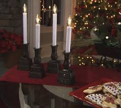 bethlehem lights window candles bethlehemlights set of 4 batteryoperated window candles with timer