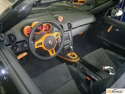 Vinyl Car Interior Porsche Boxster Interior Wrap Vehicle Customization Shop Vinyl