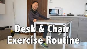 Weight Loss Standing Desk Office Desk U0026 Chair Exercise Routine For Weight Loss U0026 Health
