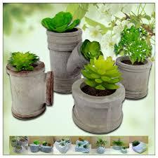 Unique Plant Pots Mini Concrete Planters Mini Concrete Planters Suppliers And