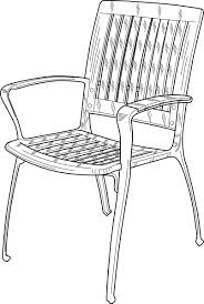 Clipart Armchair Chair Clipart Black And White Pencil And In Color Chair Clipart