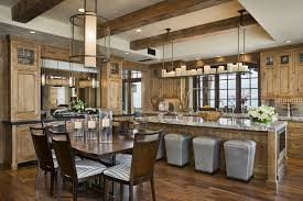 L Shaped Country Kitchen Designs by Country Kitchen With Simple Granite Counters By Locati Architects