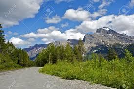 Montana landscapes images Glacier montana road montana landscape glacier national park jpg