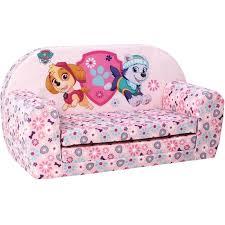 canape lit pour enfant pat patrouille canapé convertible pour enfant 2 places