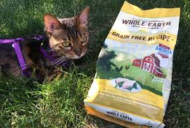 free bag of whole earth farms cat food w any purchase at petco