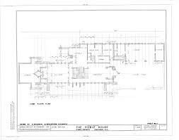 University Commons Chicago Floor Plans File Frederick C Robie House 5757 Woodlawn Avenue Chicago Cook