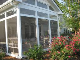 enclosing a screened porch for winter home design ideas