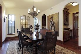 Uttermost Wall Sconces Mediterranean Dining Room With Cathedral Ceiling By Savannah
