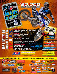freestyle motocross schedule main event series freestone raceway