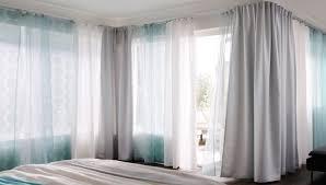 Panel Curtains Ikea Color Improvement Ikea Curtain Cope With Corners Ikea Curtains