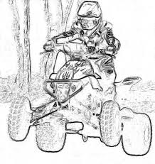 four wheeler coloring pages to print contegri com