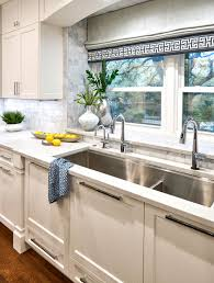 kitchen cabinet sink faucets large 54 kitchen sink with two faucets and instant