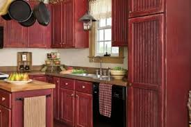 11 rustic red painted kitchen cabinets 80 cool kitchen cabinet