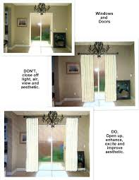Patio Door Screens by How To Hang Curtain Rod Over Sliding Door Screen Curtain For Patio