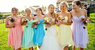 bridesmaid dress ideas wedding bridesmaids 32 colour palette ideas for your