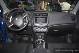 asx mitsubishi 2017 interior 2015 mitsubishi asx dashboard at the campi 2014 indian autos blog