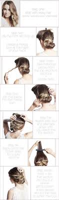 hairstyles with one elastic cute and easy hairstyle one elastic and a handful of bobby pins