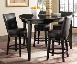 counter height dining table with swivel chairs triangular counter height dining set with swivel stools for the