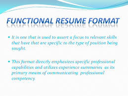Type Of Font For Resume Types Of Resume Format