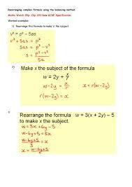 maths algebra worksheet simplebooklet com
