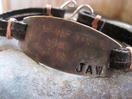 mens personalized bracelet 26 best gifts for men images on leather bracelets