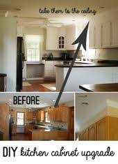 Cover Kitchen Cabinets Closing The Space Above The Kitchen Cabinets Moldings Kitchens