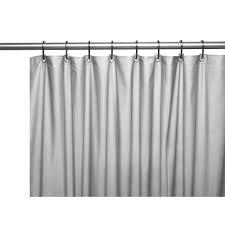 Shower Curtain Vinyl - carnation home hotel collection 8 gauge vinyl shower curtain