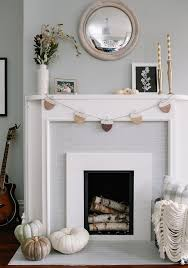 give your fireplace an easy inexpensive makeover with just paint