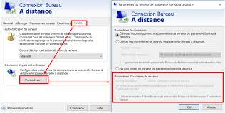 passerelle bureau à distance can t connect remote desktop after windows 10 creators update