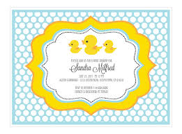 Yellow Duck Baby Shower Decorations Breathtaking Duck Themed Baby Shower Invitations 83 With