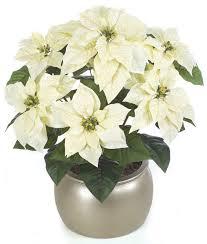 24 wholesale poinsettia bush 24 inch artificial poinsettia bush