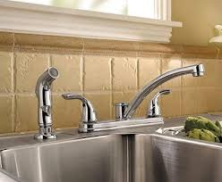 kitchen sink with faucet glamorous kitchen sink faucet peerless p299578lf choice two handle