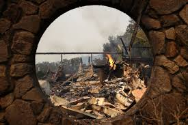 Wildfires California Current by Restaurants Wineries And Industry Businesses Currently Affected