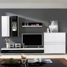 Wohnzimmerschrank Ohne Tv Fach Wohnwand Schwarz Preisvergleich U2022 Die Besten Angebote Online Kaufen