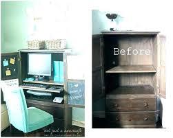 Office Desk Armoire Cabinet Corner Armoire Desk Corner Desk Plans Computer Wardrobe Corner