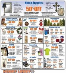 hobby lobby pre black friday 2014 deals trees crafts
