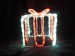 Outdoor Christmas Decorations Uk Sales by Uk Gardens Twinkling Led Christmas Parcel Lights Rope Light
