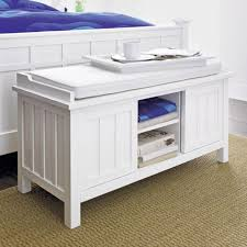 Southport Shoe Storage Bench With Cushion Storage Bench Cushion Treenovation