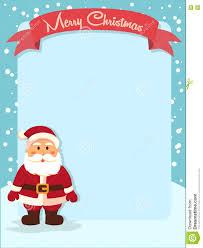 merry christmas santa banner notes stock vector image 72971447