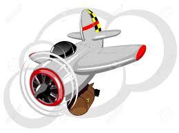 imagenes animadas de aviones ilustración de aviones militares de dibujos animados con bomba