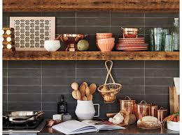 kitchen wall shelving ideas farmhouse kitchen to clearly